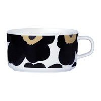 Marimekko Unikko Tea Cup White Black Green