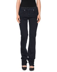 Who S Who Denim Denim Trousers Women Dark Blue