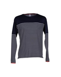 H Sio Topwear T Shirts Men Dark Blue