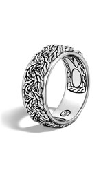 Men's John Hardy 'Classic Chain' Braided Band Ring