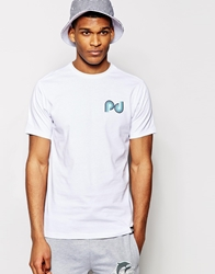 Pink Dolphin Whirlpool T Shirt White