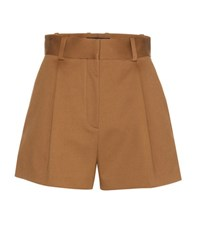Versace Cotton Shorts Brown