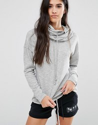 Only Play Gym Sweat Hoody Grey