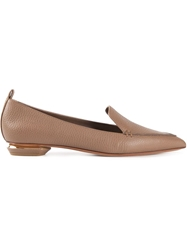 Nicholas Kirkwood 'Bottalato' Loafers Nude And Neutrals