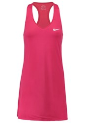 Nike Performance Pure Sports Dress Fuchsia Flux White Berry