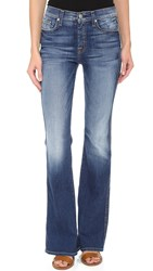 7 For All Mankind The Vintage Bootcut Jeans Bright Indigo
