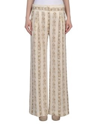 Andrea Incontri Casual Pants Ivory