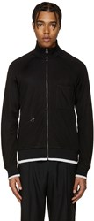 Lanvin Black Tracksuit Zip Up Sweater