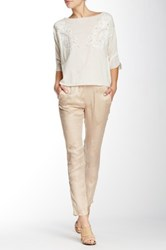 Zadig And Voltaire Pale Brod Pant Beige