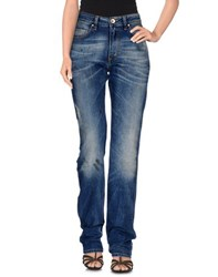 Love Moschino Denim Denim Trousers Women