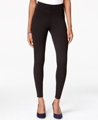 American Rag Juniors' Wide Waistband Ponte Leggings Only At Macy's Classic Black