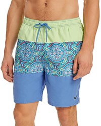 Vineyard Vines Pieced Sea Of Turtles Bungalow Swim Trunks Harbor Cay