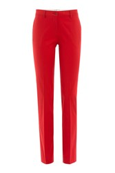 Etro Cotton Pants Red