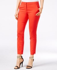 Xoxo Juniors' Sateen Ankle Pants Red