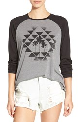 Rip Curl Women's 'Desert Nights' Long Sleeve Graphic Tee