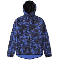 Nike Tech Fleece Camo Windrunner Blue