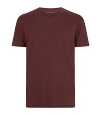Allsaints Figure Crew T Shirt Male Red