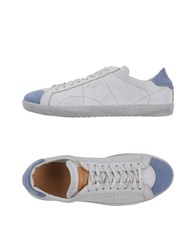 Santoni Footwear Low Tops And Trainers Men Pastel Blue