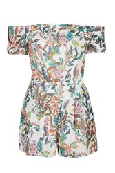 Turn Up Sleeve Playsuit By Love Multi