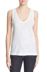 Women's Zadig And Voltaire Distressed Tank
