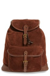 Polo Ralph Lauren Men's Suede Backpack