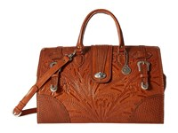 American West 30Th Anniversary Commemorative Collection Large Coach Bag Golden Tan Bags