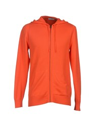 Bill Tornade Billtornade Knitwear Cardigans Men Orange