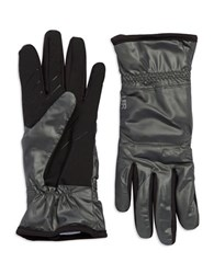 Ur Powered Packable Faux Fur Lined Gloves Grey
