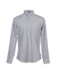 Zegna Sport Long Sleeve Shirts Steel Grey