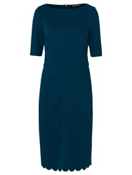 Sugarhill Boutique Albury Ponte Shift Dress Teal