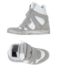 Le Crown High Tops And Trainers Grey