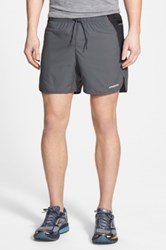 Patagonia 'Strider Pro' Stretch Woven Running Shorts 5 Inch Gray