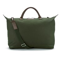 Want Les Essentiels Men's Hartsfield Weekender Tote Olive Gunmetal