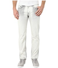 Dkny Williamsburg Jeans In Europa Grey Acid Wash Europa Grey Acid Wash Men's Jeans White
