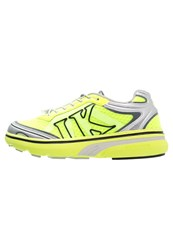 Lumberjack Urban Trail Trainers Silver Lime Neon Yellow