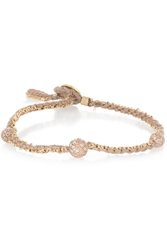 Brooke Gregson 18 Karat Rose Gold Diamond Bracelet