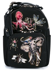 Valentino Garavani 'Fantastic Animals' Backpack Black