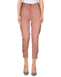 Twin Set Jeans Trousers Casual Trousers Women Pastel Pink