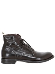 Officine Creative Lace Up Leather Boots