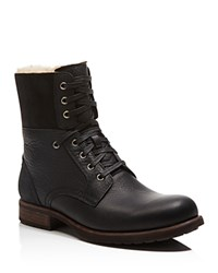 Ugg Australia Laurus Leather Military Boots