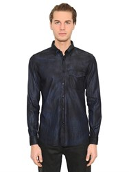 Belstaff Samuel Overdyed Cotton Denim Shirt