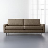 Cb2 Central Sepia Sofa