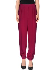 Diane Von Furstenberg Trousers Casual Trousers Women Garnet