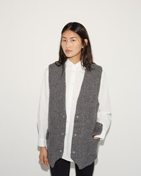 Acne Studios Avril Vest Light Grey Melange