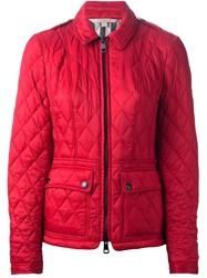 Burberry Brit Padded Jacket Red