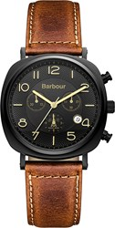 Barbour Bb019bktn Mens Strap Watch
