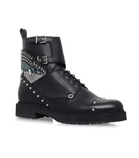 Fendi Bugs Combat Boots Female Black