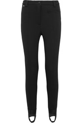 Fendi Tech Jersey Ski Leggings Black