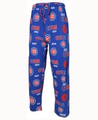 Concepts Sport Men's Chicago Cubs Sweep Sleep Pants Blue