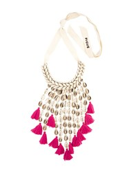 Figue 'Sina' Necklace Pink And Purple